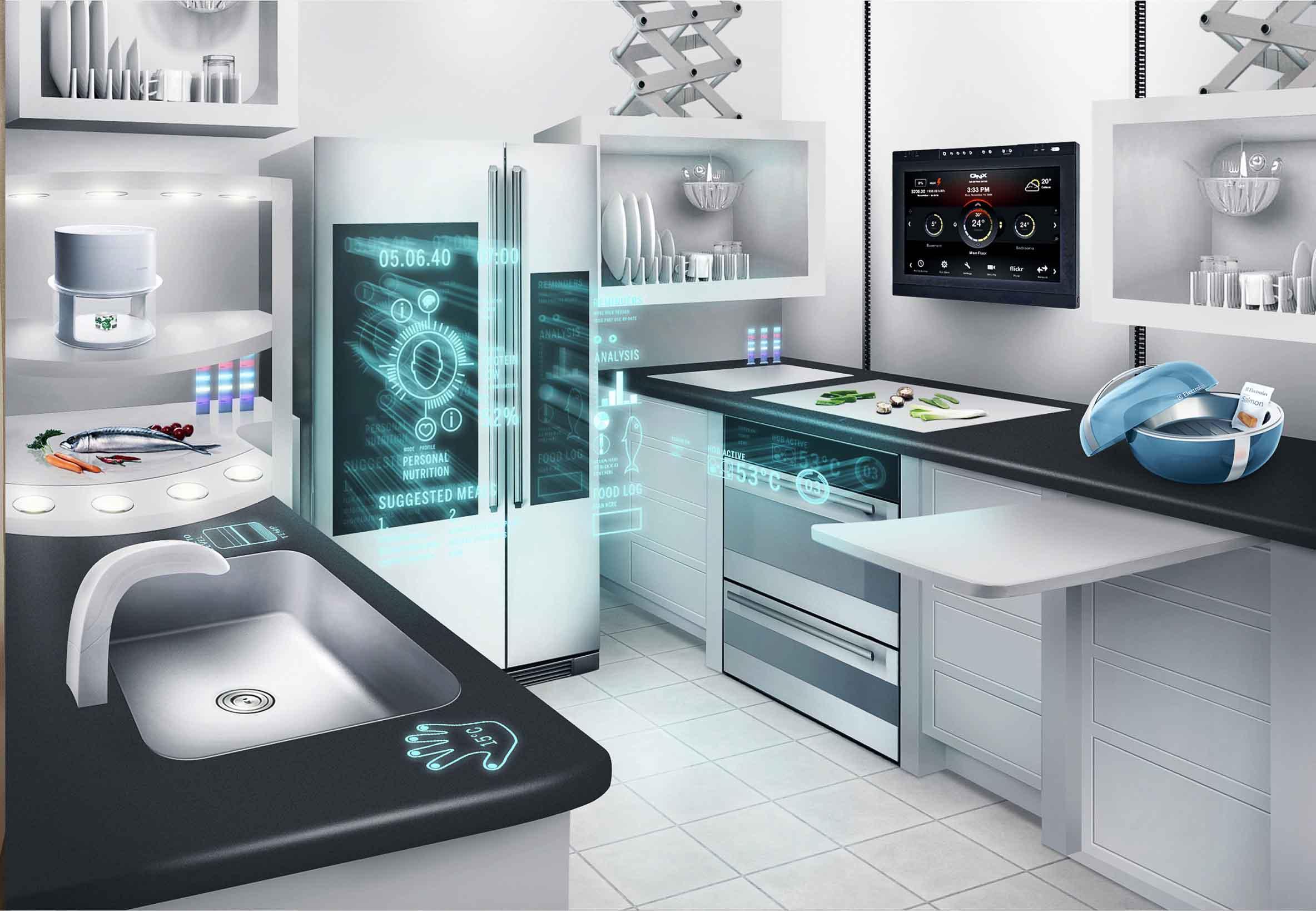 The Smart Home of the Future – Amazing Futuristic concept