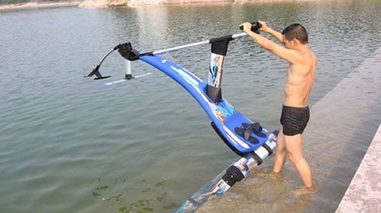New Invention : The Human-Powered Hydrofoil