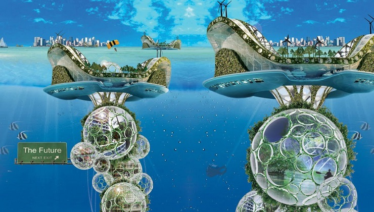 A Future with Underwater Cities