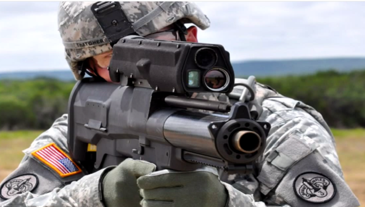 Top 10 Futuristic Military Weapons