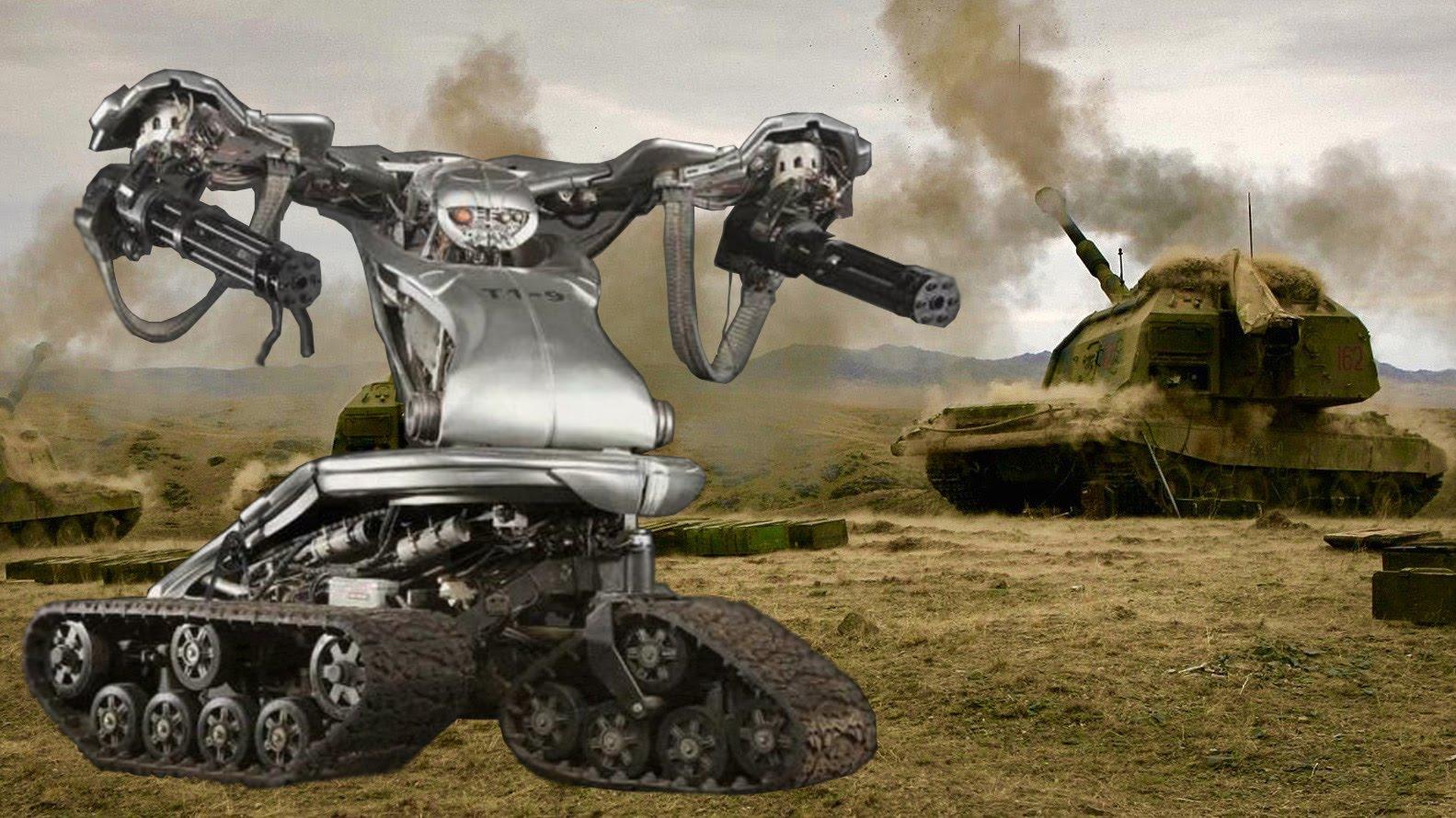 US Military Builds Top Secret Killer Terminator Robots