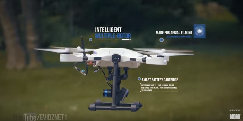 Here are 10 amazing new Smart Drone Technologies available in 2016