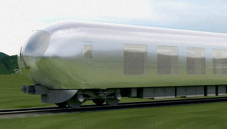 Japan is designing an Invisible Train to hit the tracks by 2018