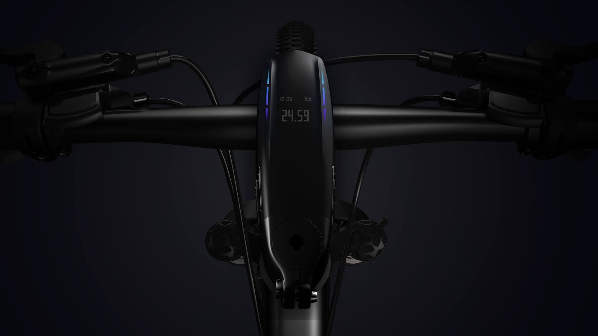 Future Gadget : SpeedForce Fully Integrated Cycling Computer