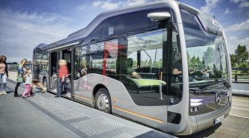 Mercedes-Benz unveils Self-Driving Bus