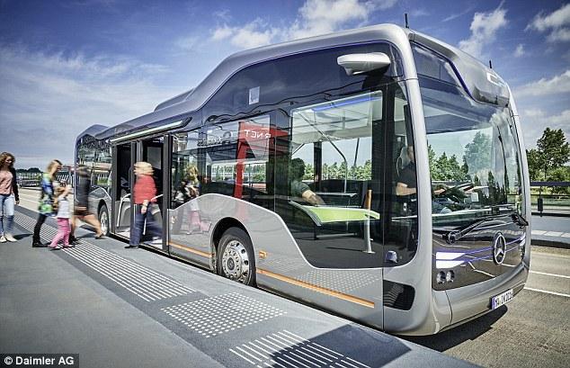 Mercedes-Benz unveils Self-Driving Bus