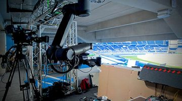 Robot employed in Rio Olympics TV Coverage
