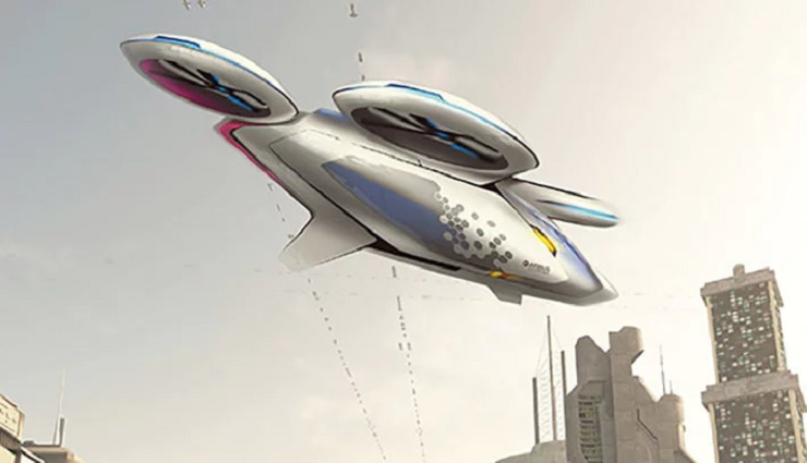 Autonomous Airbus Drones could be Flying us to work by 2027