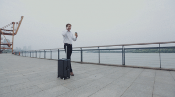 The Future of Luggage, A Suitcase that follows you Around