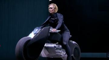 Motorcycle of the Future is Helmet Free