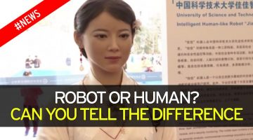 China unveils Freakishly Human-like Robot that understands Speech & can read Facial Expressions