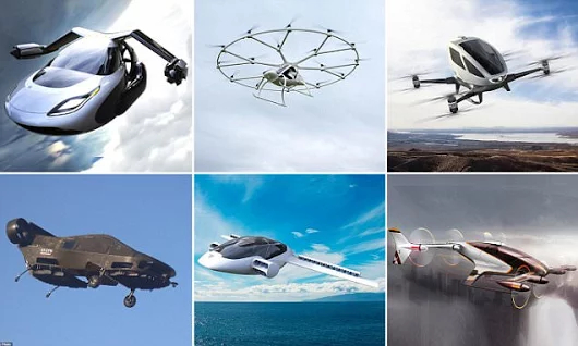Meet the contenders for the World's first Flying Car