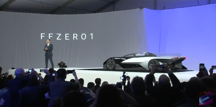 Testing the Faraday Future the Fastest Accelerating Production Vehicle to hit the Roads