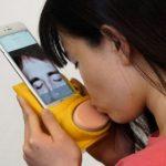 New Kissenger Gadget lets you Smooch through your Phone Screen
