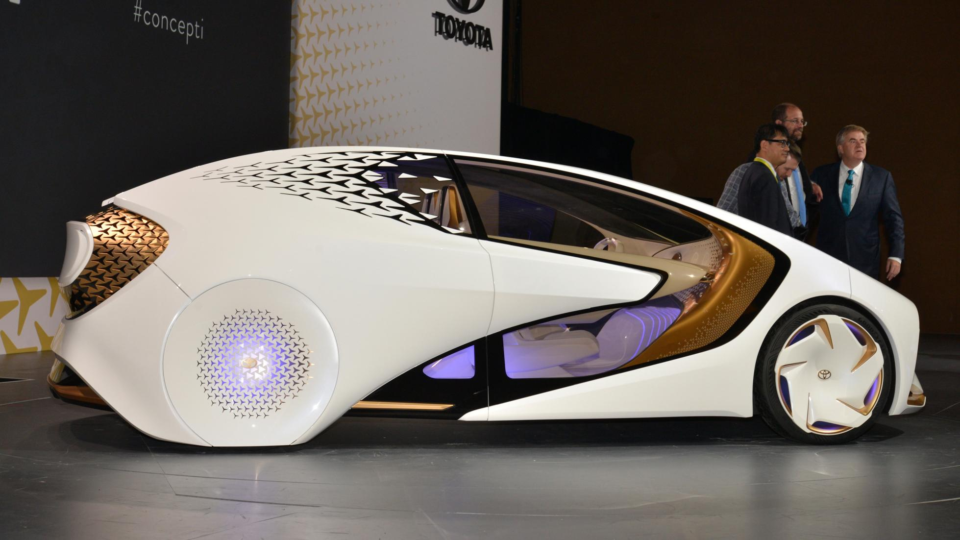 The new Toyota Concept-i could be the Car of the Future