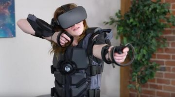 The Future of Gaming : New VR Suit adds Vibration for more Realistic Gameplay