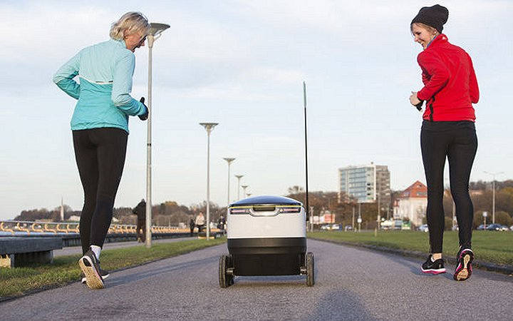 Robotic Food Delivery