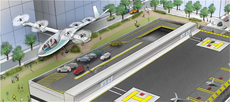 NASA Engineer joins Uber to Develop Flying Cars