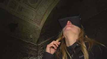 Virtual Reality comes to Emporor Nero's Golden Palace in Rome
