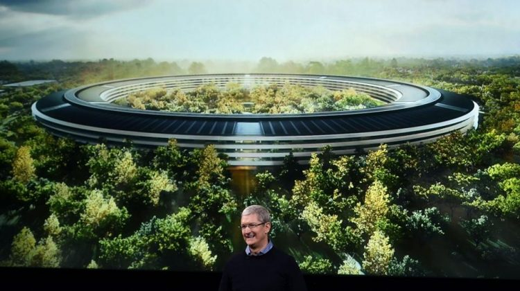Apple Will Open Its New 'Spaceship' Campus In April