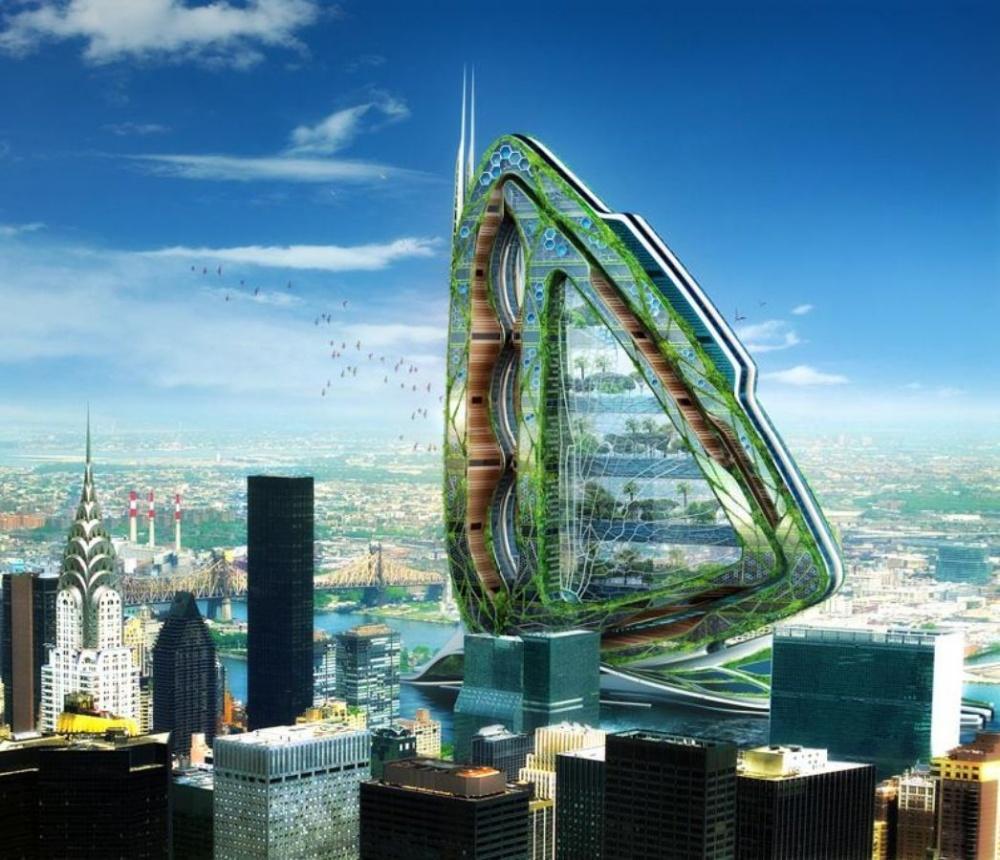 20 Most Futuristic Buildings