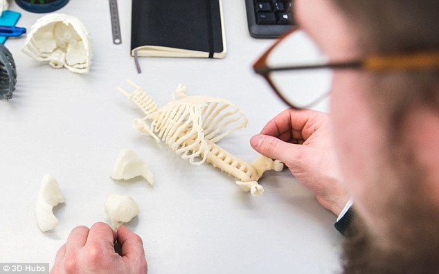 The tiny 3D Printed 'Babies' that could be used to train the Next Generation of Doctors
