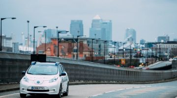 Nissan tests Self-driving Tech in London