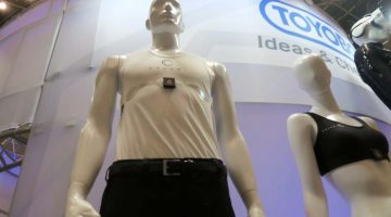 This Shirt detects Drowsiness in Drivers