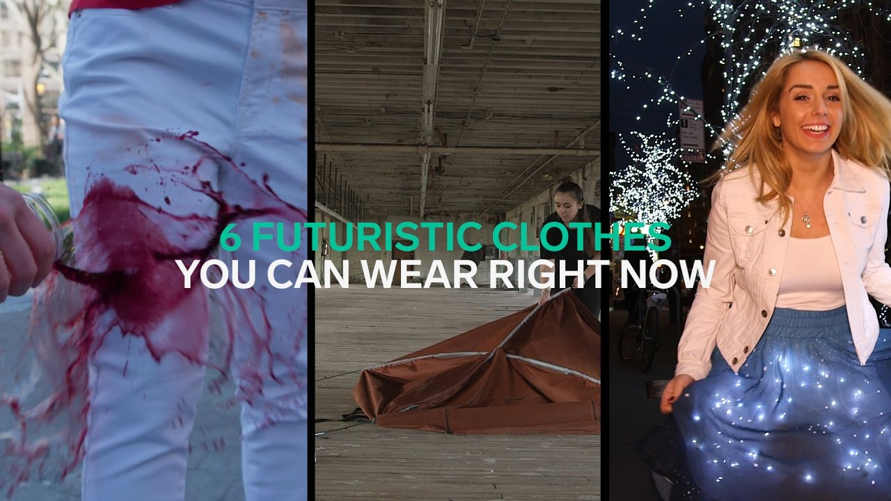 Top 6 Futuristic Clothes you can wear right now