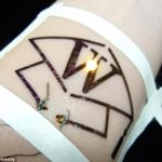 The Hi-Tech temporary Tattoo that could soon tell you when you've had enough to Drink