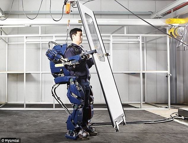Meet the SUPERHUMANS : Researchers reveal How Technology will turn Future Factory Workers into Cyborgs