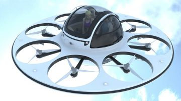 The Future is Here: Fly to Work in your Two-Seater Drone