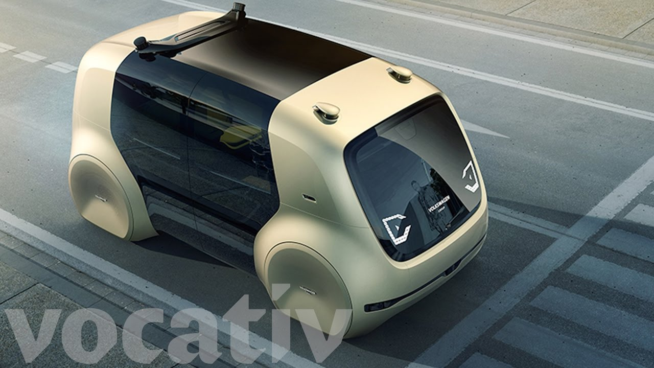 Volkswagen Teases Vision of The Driverless Future