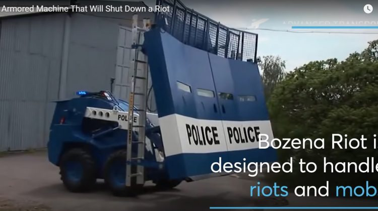 The Armored Machine that will Shut Down a Riot