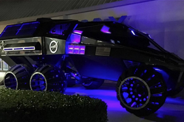 NASA has been quietly working on a Mars Rover Concept that looks like a Bat Mobile