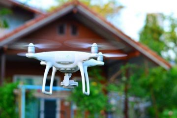 Eyes in the Sky : Are Drones the Future of Home Security?