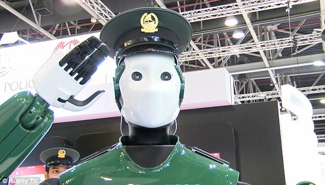 The Robocop: World First Crime-Fighting Droid