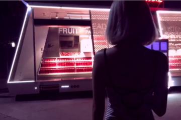 Autonomous, Staffless Mobile Store
