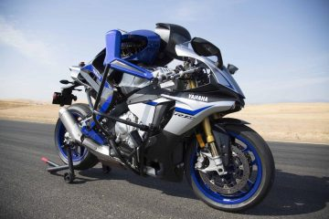 AI & Autonomous Technology come Together in One Motorbike