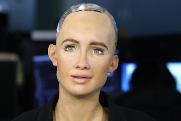 The first-ever robot citizen