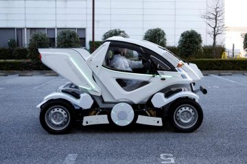 The Future of Motoring : The Fold-Able Car