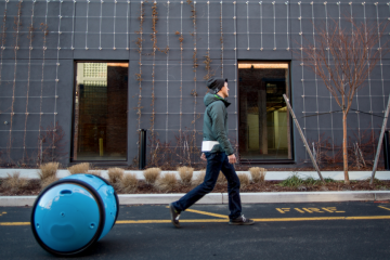 This Robot Will Carry Your Stuff and Follow You Around