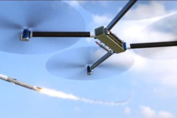 Russian Future Weapon – Largest Drone with Missile Launcher & Machine Gun