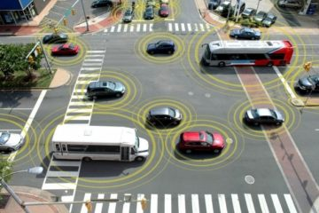 The Future of Roads could mean Cars not having to stop at Intersections