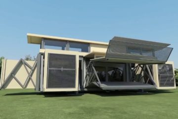 Incredible Futuristic & Innovative Foldable House You Need To See in 2018