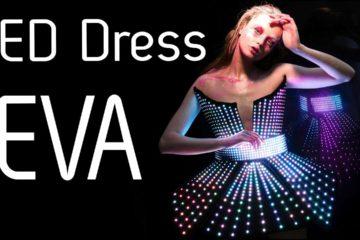 LED Pixel Sexy Dress EVA | Fashion of the Future