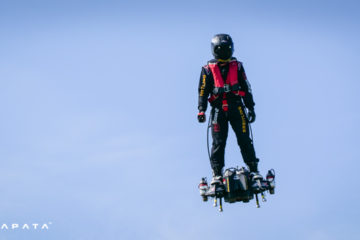 Riding the Jet Powered FlyBoard Air