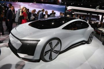 Future Concept Cars with AI Technology