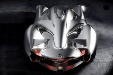 Future Peugeot Lumie Concept Car