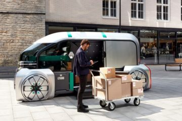 Futuristic Driverless Vehicle offers 'last mile' delivery solution
